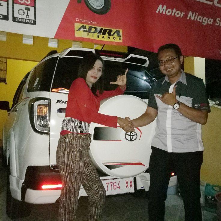Terima kasih atas kepercayaan Keluarga Bapak Findy yang telah melakukan pembelian 1 unit Toyota Rush TRD Sportivo Ultimo melalui ToyotaSemarang.com Semoga berkah untuk keluarga…...