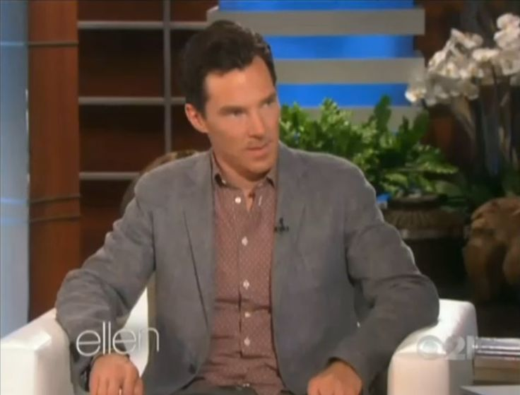 #Ellen DeGeneres #Show - 01/14/2015 - Full Show. Segment with Benedict #Cumberbatch starts at 13:30.