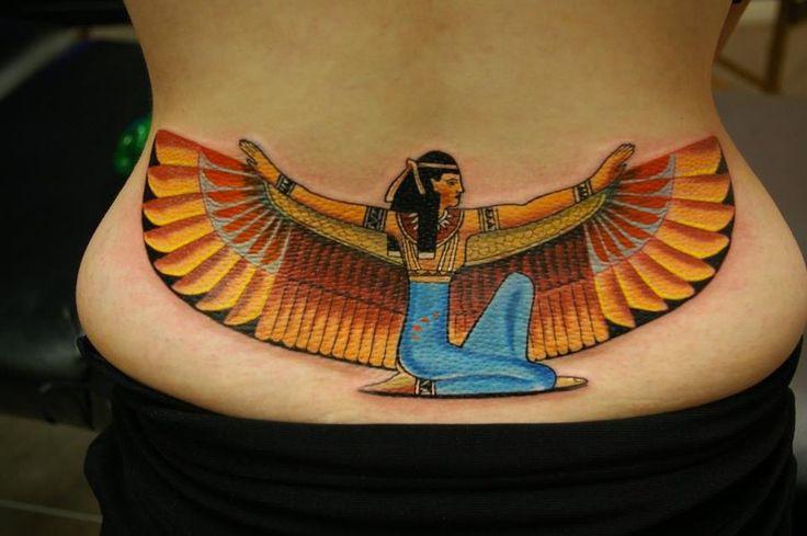 The Goddess Isis by Sandor Konya @ Dublin Ink. by ~DublinInk on deviantART