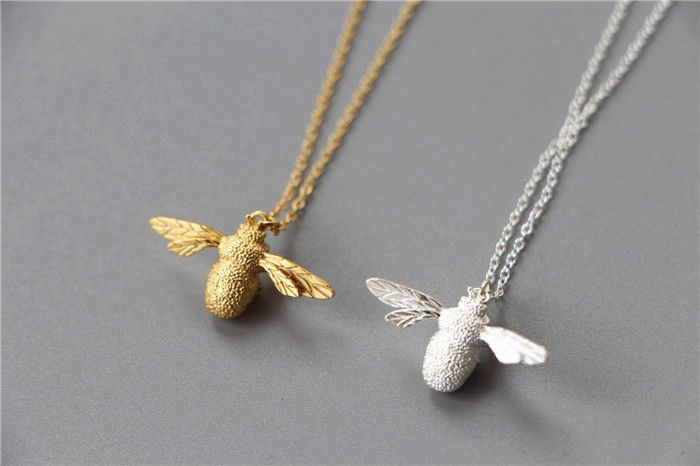 Drop Shipping Cute Bee Necklace & Pendant For Women Necklaces Jewelry Collar Colar Only $4.64 => Save up to 60% and Free Shipping => Order Now! #Earrings #Rings #Handmade #Silver Jewelry #Pandora Bracelets #Nature Stone Jewelry #Jewelry #Necklaces #Bracelets