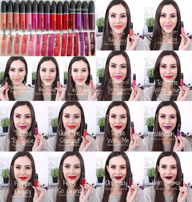 Mac Retro Matte Liquid LipColors Mac Liquid Lipstick Lip