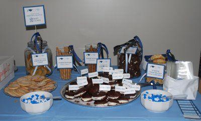 graduation ideas: Cookies Bar, Grad Ideas, Graduation Theme, Graduation Ideas, Graduation 2012, Parties Ideas, Cookies Buffet, Ideas Graduation, Graduation Parties