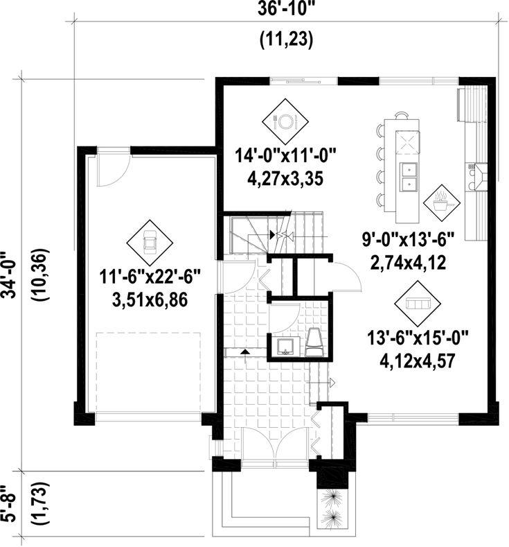 Plan image used when printing