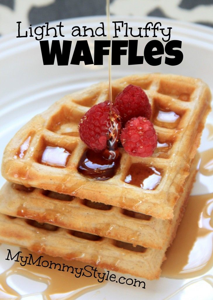 Light and Fluffy #Waffles