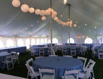 Tent Rental Prices MI, Table and Chair Rental Pricing MI, Metro Detroit, Michigan