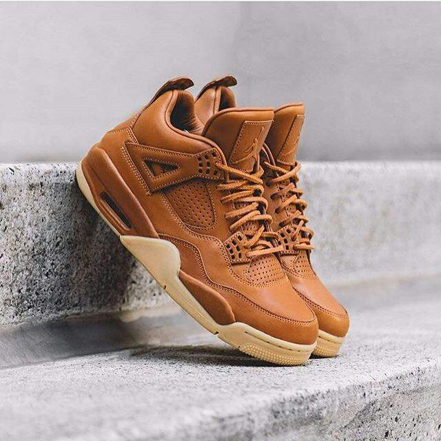 Kicks : Air Jordan 4 Premium Ginger.