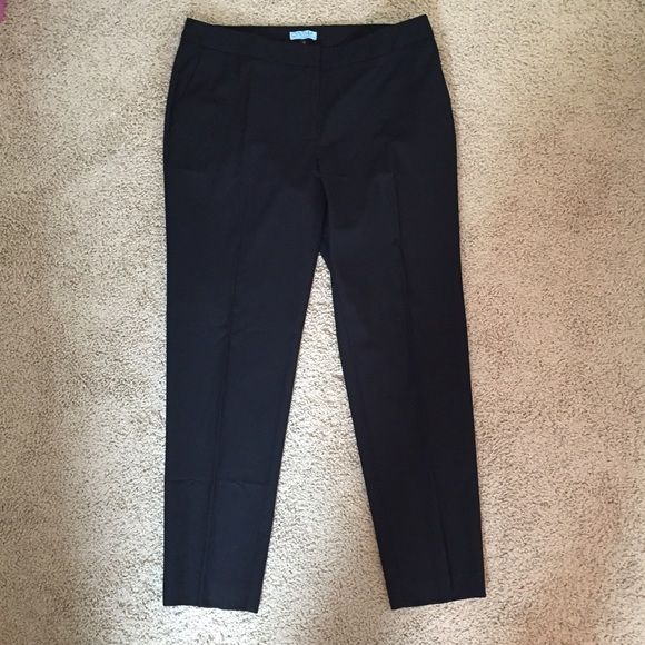 Black Ankle Pants Black Ankle Pants. Worn maybe 4 times.  Perfect condition. Cynthia Rowley Pants Ankle & Cropped