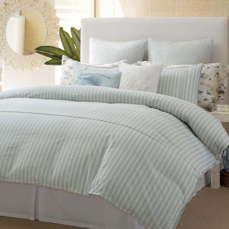 Tommybahama Surfside Stripe Comforter And Duvet Sets