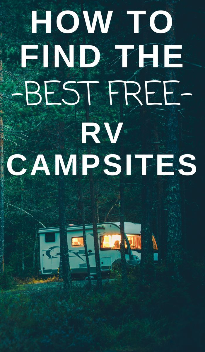 See how to find the best free rv campsites. #campsites #OurRoamingHearts #rvcamping #rvtravel #RVTrip