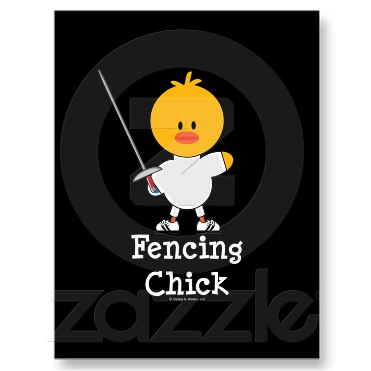 Love this  #fencing