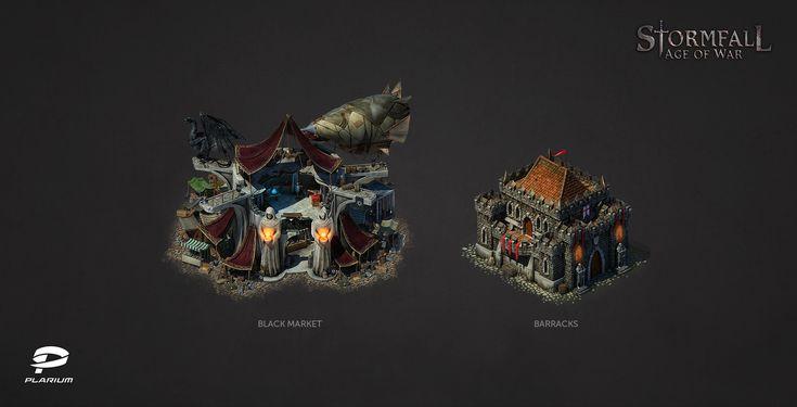 ArtStation - Stormfall: Age of War, Anton Mendelis