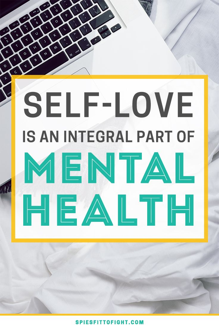 Self-Love Is An Integral Part Of Mental Health