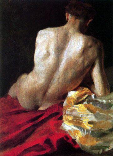 М. А. Врубель Натурщик. 1882-1883