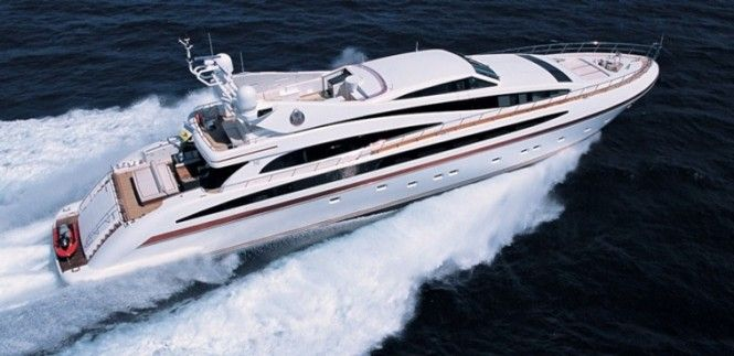 Newly-Refitted M/Y SAMJA For Charter in West Med's Italy and French Riviera