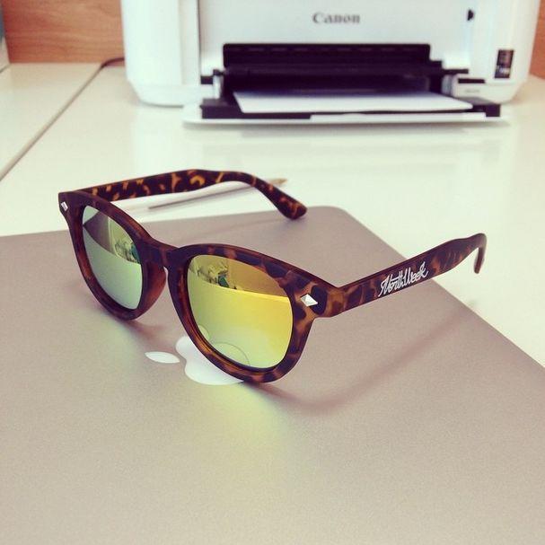 Northweek Circle Polarized - Tortoise and orange lenses  #Northweek #Sunglasses #Barcelona http://www.northweek.com/gafas-sol-circle
