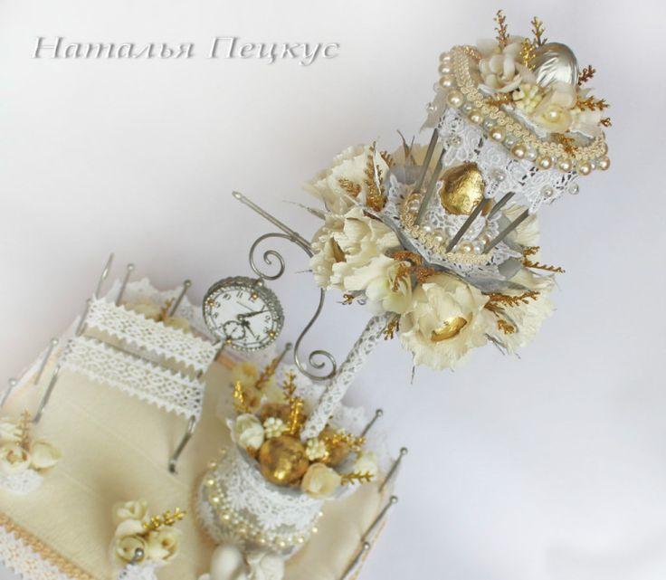 """Gallery.ru / Romantic - Букеты из конфет в Челябинске """"Свадьба и любовь"""" - natapetskus"""