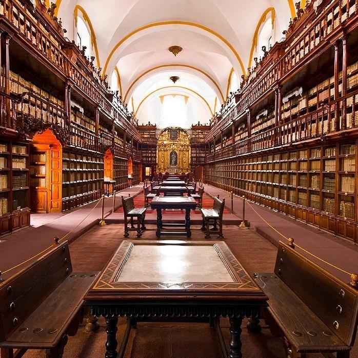 Difunden historia y acervo de la Biblioteca Palafoxiana en aplicación para tabletas y dispositivos móviles