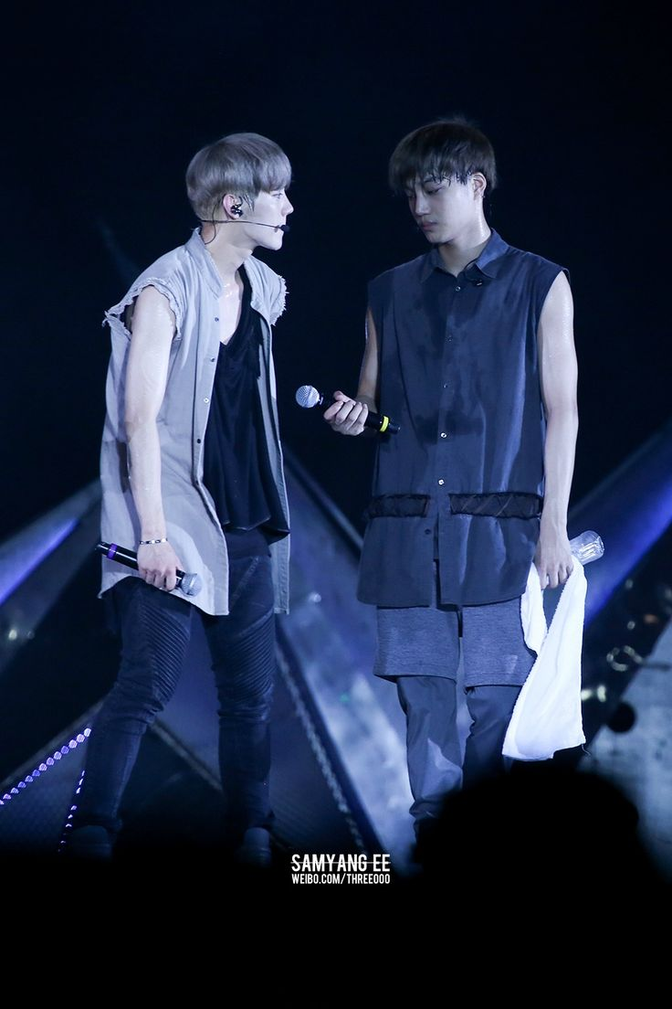 140727 EXO The Lost Planet in Changsa - Luhan & Kai