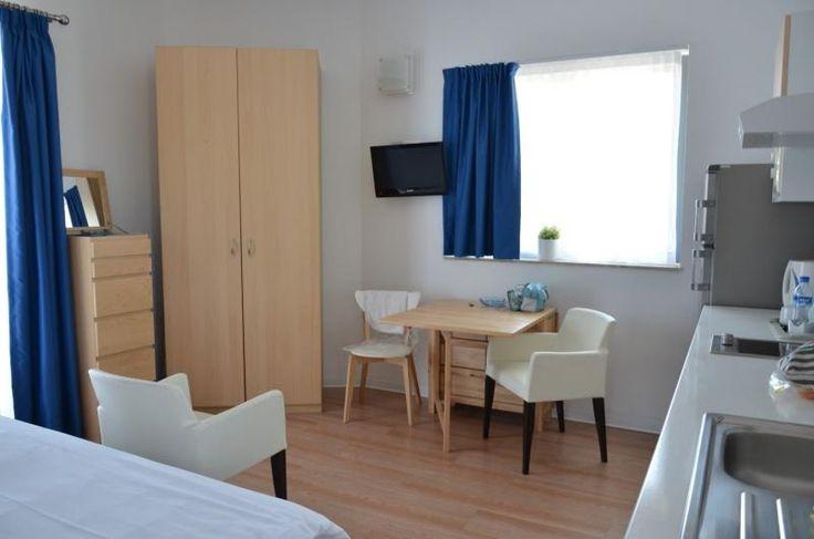 青と白の部屋の写真