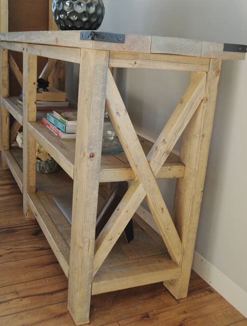 Diy bookshelf. Look at structure for possible grow bed frame and support