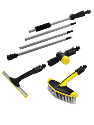 Karcher Window and winter garden cleaning kit - 2.640-771.0 - http://www.hall-fast.com/industrial-commercial-equipment/janitorial-equipment/professional-cleaning-solutions/karcher-accessories/karcher-window-and-winter-garden-cleaning-kit/