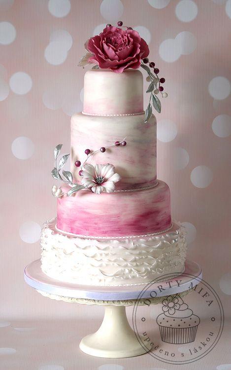 Svatební dorty fotogalerie | Dorty Mifa