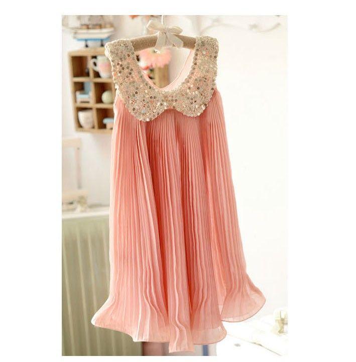 Rosa flickklänning från House of Dreams