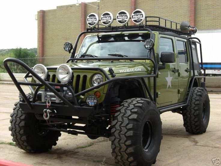 Decked out Jeep Wrangler JK