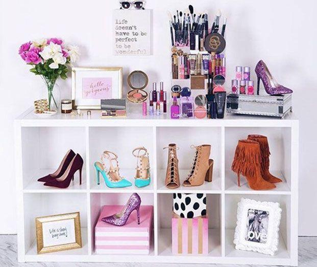 M s de 1000 ideas para guardar zapatos en pinterest - Muebles para guardar zapatos ...