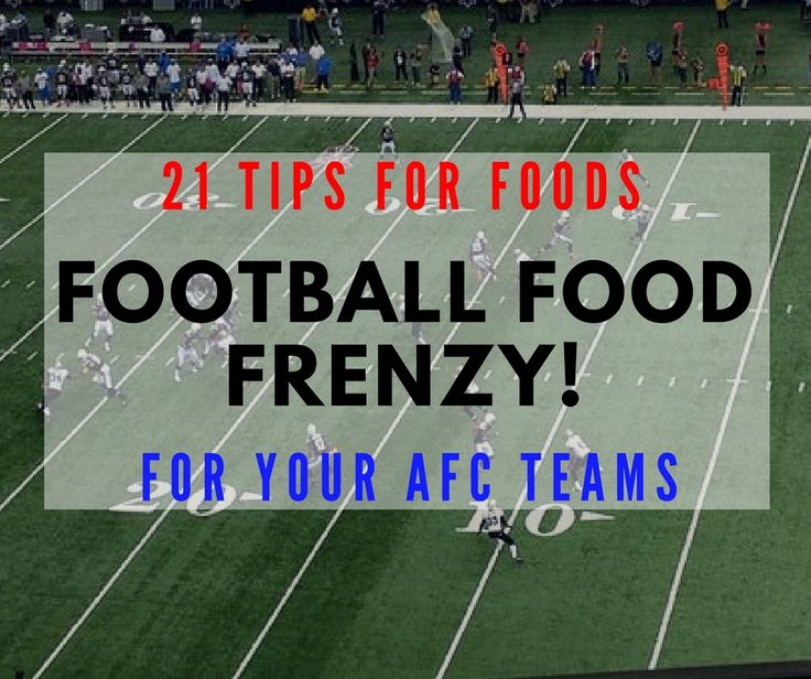 Check out this amazing list of football food for some of your favorite NFL teams! This list makes game day a snap! Recipes included.