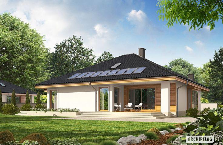 Projekty domów ARCHIPELAG - Flori III G1 ECONOMIC (wersja A)