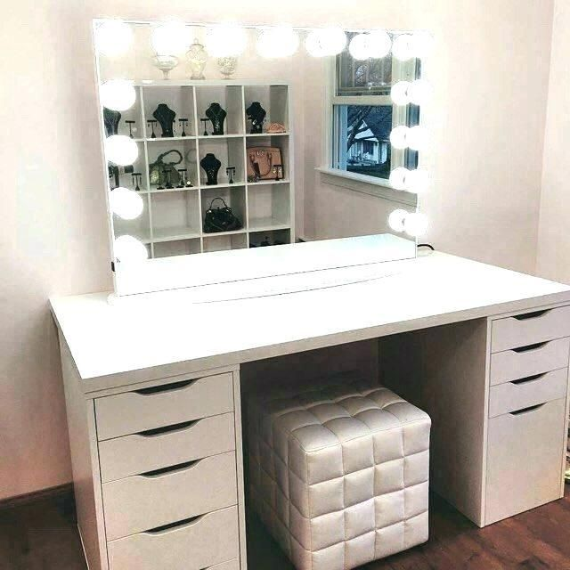 Best Lighting For Makeup Vanity Bedroom Vanity Ikea Alex Drawers Diy Vanity Mirror