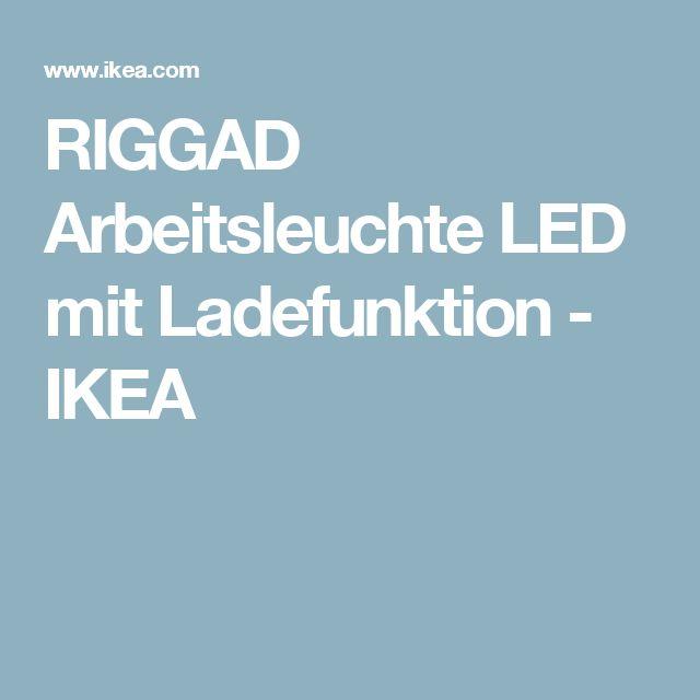 RIGGAD Arbeitsleuchte LED mit Ladefunktion   - IKEA