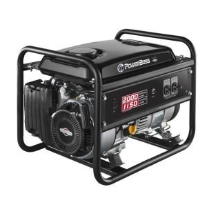 1150watt gasoline powered recoil start portable generator with briggs u0026 stratton engine