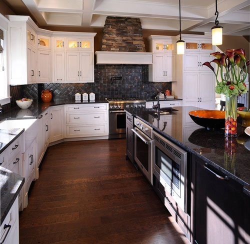 Kitchen Ideas With Black Granite Countertops: 17 Best Images About Kitchen Ideas On Pinterest