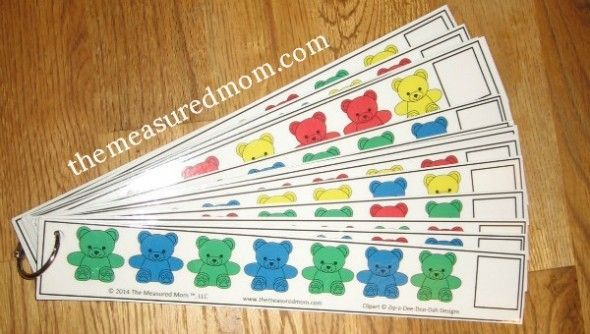 Math Activities with Counting Bears (for ages 2 8)