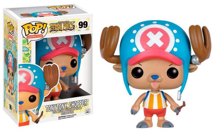 Cabezón Tony Tony Chopper 9 cm. One Piece. Línea POP! Animation. Funko Estupendo cabezón de 9 cm del personaje llamado Tony Tony Chopper visto en el exitoso manga/anime One Piece, fabricado en vinilo de alta calidad y 100% oficial y licenciado. Es perfecto como regalo para todos los fans.