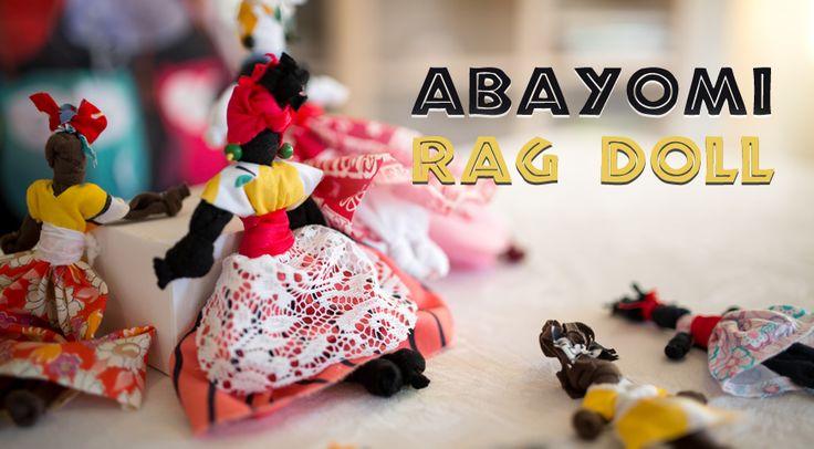 Activities for Seniors: Abayomi Rag Doll (in Gift Ideas)