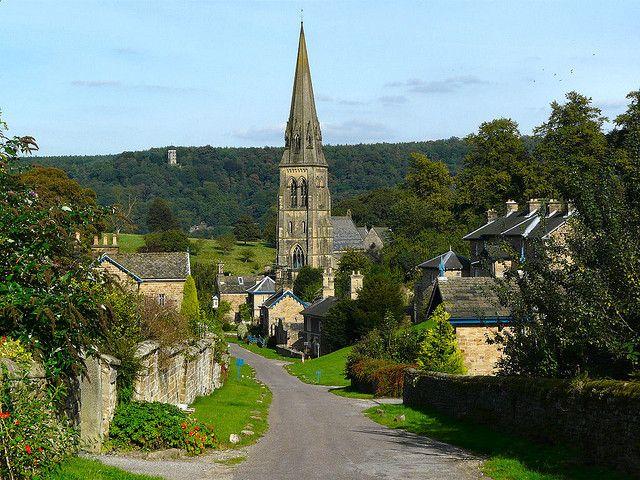 Edensor, Derbyshire