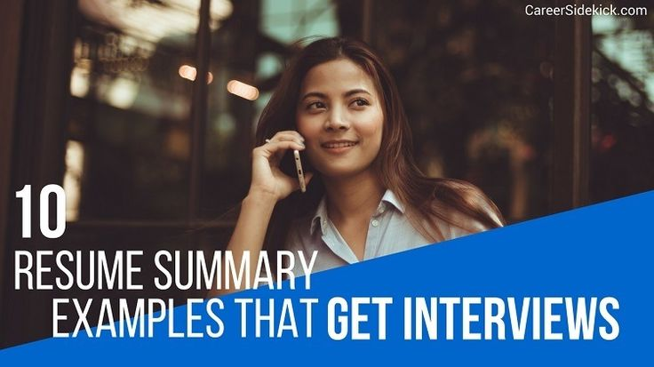 10 powerful resume summary statement examples that get interviews in every industry. Stop stressing and copy these proven formulas for YOUR resume.