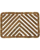 Rubber cal Herringbone Coir Doormat (18 X 30)