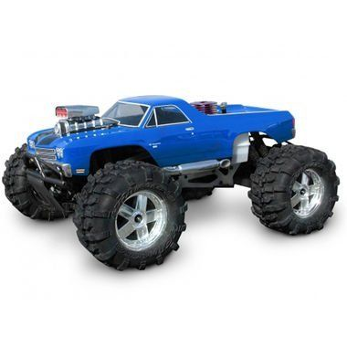 Hobby Products International 7177 Chevrolet El Camino SS by Hobby Products International. $35.99. From the Manufacturer                HPI Racing is proud to announce one of our new bodies for the Savage 21 monster truck: the Chevrolet El Camino SS. The perfect body to express the free-wheeling and fun atmosphere of monster truck racing, this body features a distinctive supercharged engine with attached blower and front bumper, side exhausts and all the unique styling ...