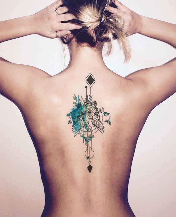 ▷ 1001 + Ideen und Bilder zum Thema Aquarell Tattoo und seine Bedeutung