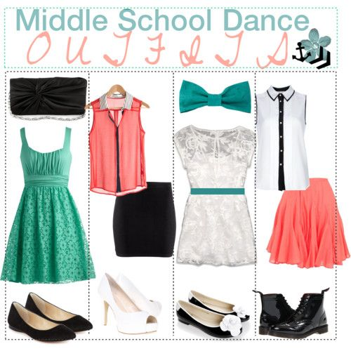 Some nice outfits to wear to a middle school dance