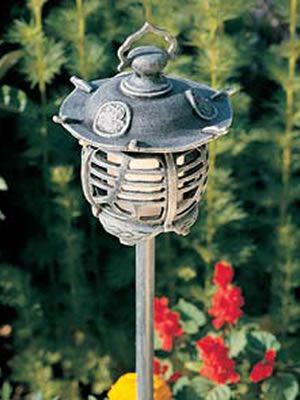 93 best oriental lighting images on pinterest hadco vpl1 g cast aluminum pagoda oriental low voltage path light aloadofball Gallery