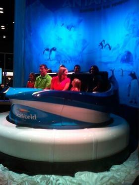 Orlando Business Journal (Nov. 13) -- IAAPA: SeaWorld Orlando unveils car for new Antarctica ride