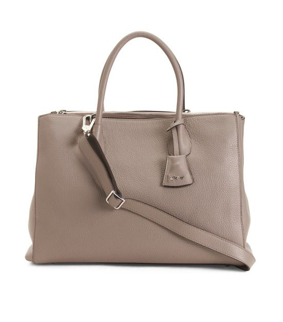 ABRO Women's Made In Italy Pebbled Leather Tote Shoulder Handbag Free Ship NWT    eBay