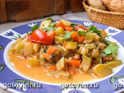 Рагу из баранины с овощами. Фото-рецепт