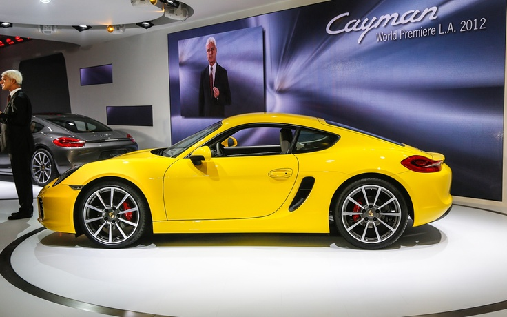 2013 Porsche Cayman Bows with 275 HP, Starts at $53,550 - 2012 L.A. - WOT on Motor Trend  I am looking to trade-in our 2012 Porsche Cayman S for the all-new Cayman S (2013) model later next year.  I think it is due to the LA Porsche Dealers in Summer?  http://www.olympicrentacar.com/porsche-cayman-rental/