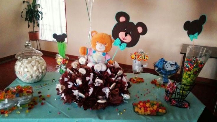 Colombinenero para mesa de dulces